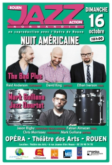 Nuit Américaine : The Bad Plus / Mark Guiliana Jazz Quartet