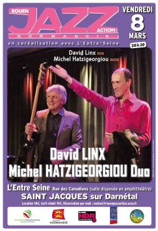 David Linx - Michel Hatzigeorgiou : The Wordsmith